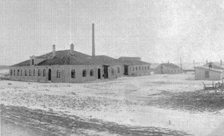Fællesslakteriet i 1911