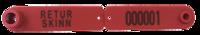 Rød Combi Signal – RETURSKINN