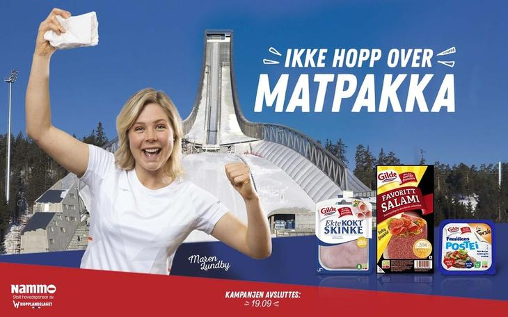 "Kampanjen ""Ikke hopp over matpakka"" med Maren Lundby"